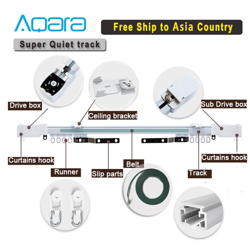 Customizable Super Silent Electric Curtain track for Aqara/Aqara B1 motor Curtain rail control systemfor Zigbee Smart Home