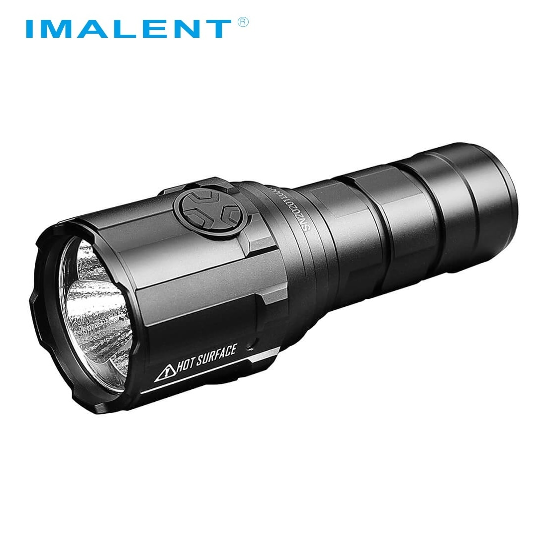 IMALENT R30C EDC LED Flashlight 9000 Lumens Type-C USB Rechargeable Flashlight by 21700 Battery for Hunting, Search and Rescue