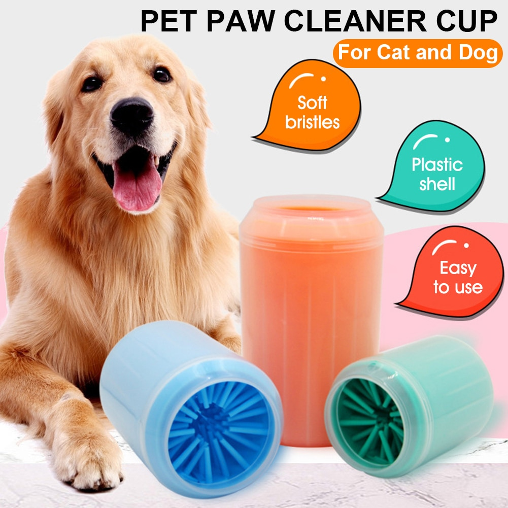 aliexpress.com - Paw Plunger Pet Paw Cleaner Soft Silicone Foot Cleaning Cup Portable Cats Dogs Paw Clean Brush Home Practical Supplies 3 Sizes