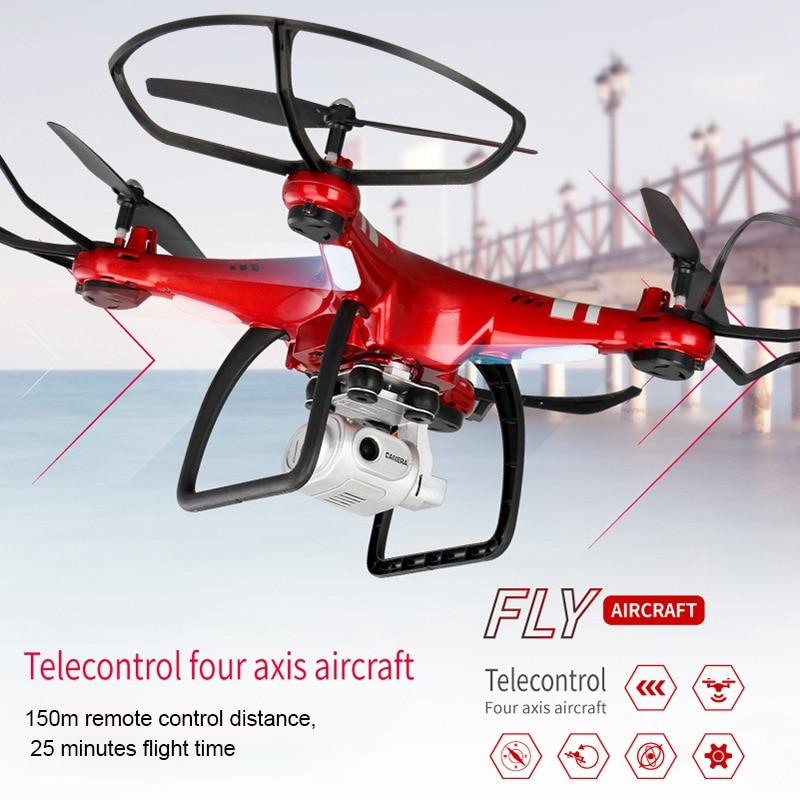 DIDIHOU RC Drone Quadcopter с 720p камерой вертолет 20 25 мин Время полета Профессиональный FPY Dron