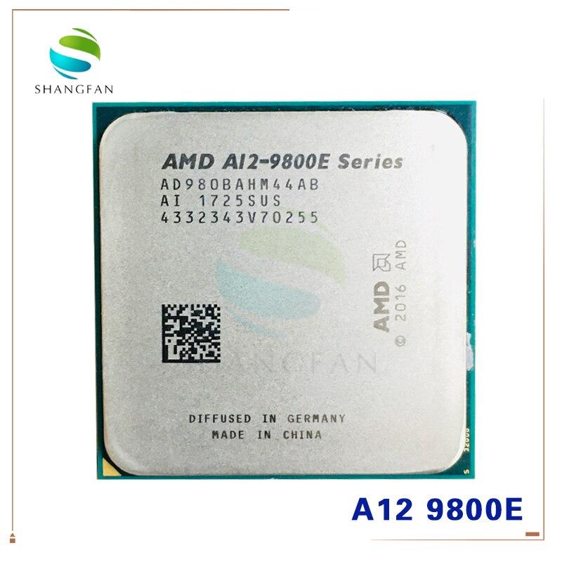 AMD A12-Series A12-9800E A12 9800E 3,1 GHz Quad-Core CPU procesador AD9800AHM44AB AD980BAHM44AB hembra AM4