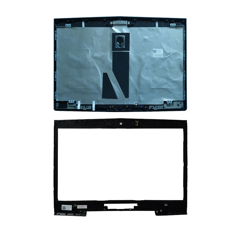 Cubierta de portátil para DELL Alienware M14X R1 R2, cubierta trasera LCD 0CNT97 0V9T7K/LCD, bisel frontal 0MY6C7