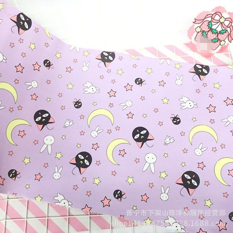 39 Styles 30*67CM Sailor Moon Sakura Photo Background Tablecloth Action Figure PU Lovely Computer Keyboard Table Mat Home Decor