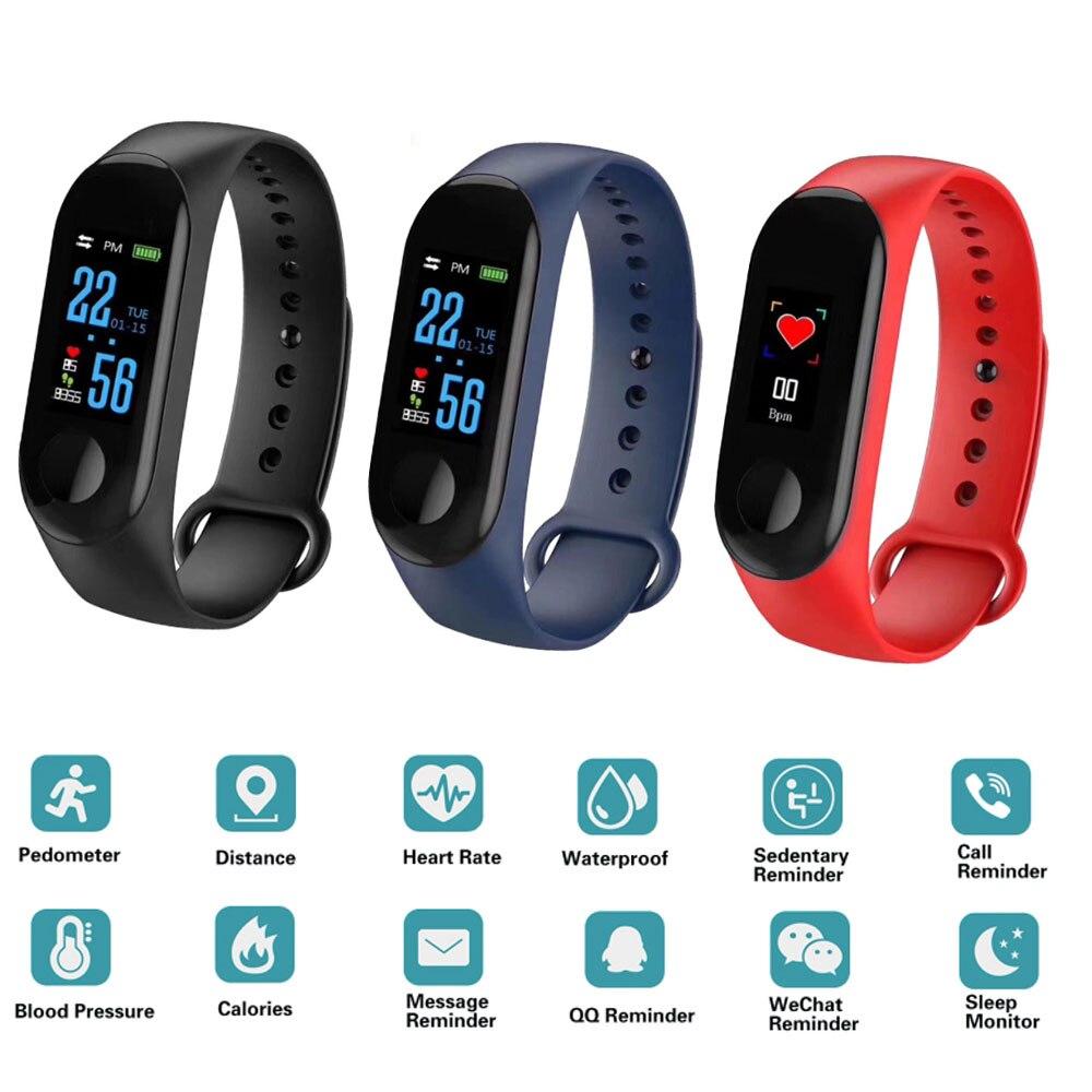 Smart Watch Kids Watches Children For Girls Boys Sport Bracelet Child Wristband wristband Fitness Tracker Waterproof
