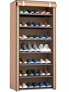 Shoe Rack Multi-layer Dust-proof Simple Storage Shoe Cabinet Small Metal Shoes Shelf Meubles Home Furniture Mobili Per La Casa