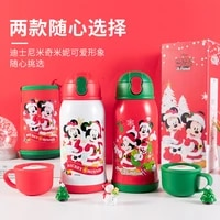 disney christmas thermal mug 316 stainless steel food grade insulated cup child cartoon cute outdoor portable insulated cup