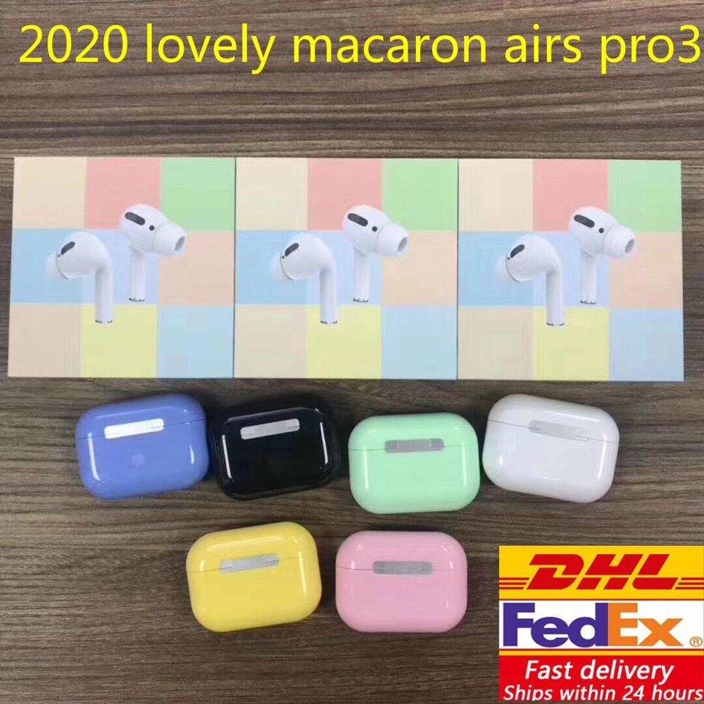 Dhl 20/50/100/500 pièces Macaron Air pro 3 TWS Clone Support de vol
