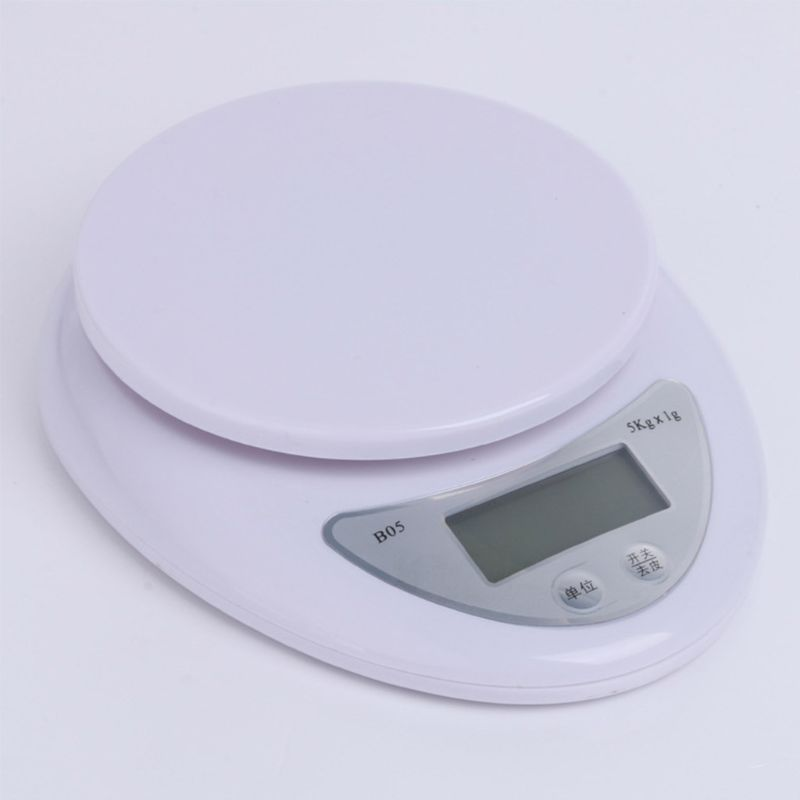 Household High-precision 5 kg Digital Baking Scale Portable LCD Electronic Kitchen Scale Food Balance Weight Measurement