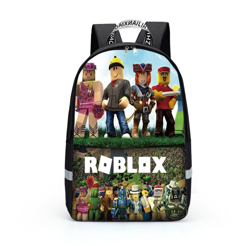 Hot sale Cartoon Printed School Bags teenagers nylon waterpoof Bookbag  fashion game backpack Mochila casual