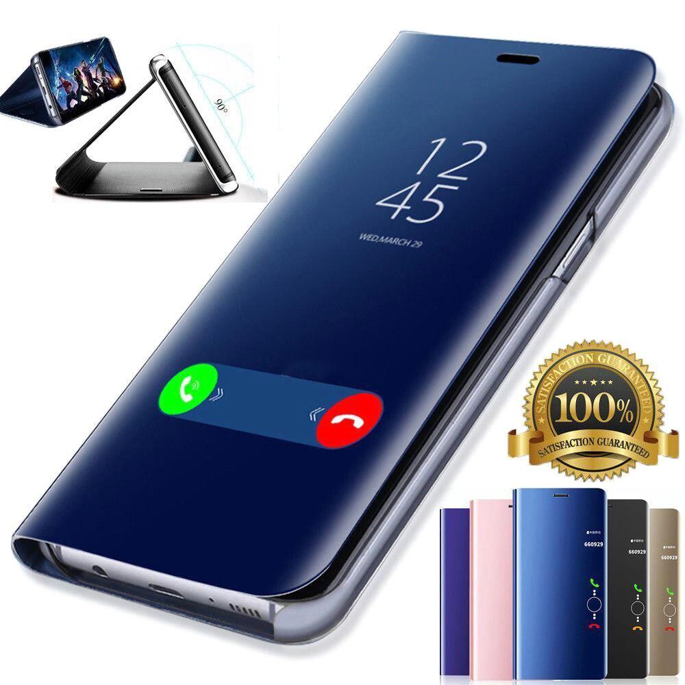 "Honor 10 luz funda para Huawei honor 10 lite espejo inteligente flip teléfono caso honor 10 lite honor 10 lite 6,21 ""soporte"