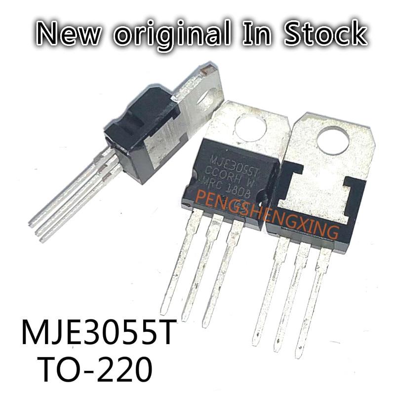 10PCS/LOT  MJE3055T MJE3055 3055T NPN power transistor  TO-220  New original spot hot sale