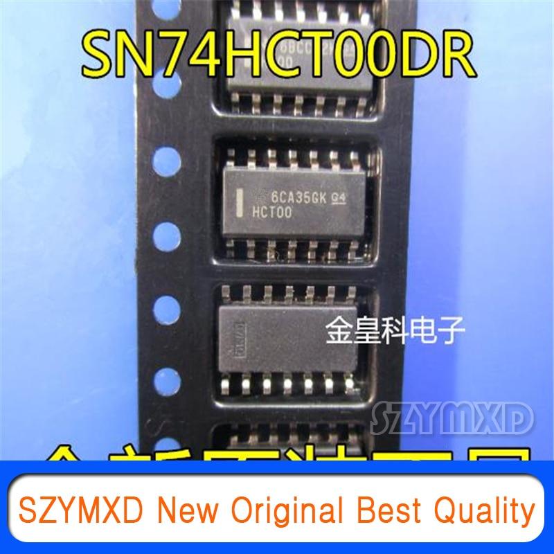 10 pçs/lote novo original sn74hct00dr hct00 SOIC-14 quad 2 entrada positiva nand chip lógica em estoque