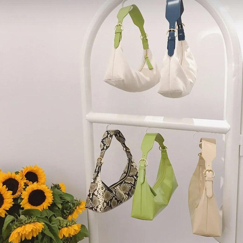 Retro canvas bag shoulder bag 2020 new wild Messenger bag Elegant handbag Crossbody bag underarm bag female Totes
