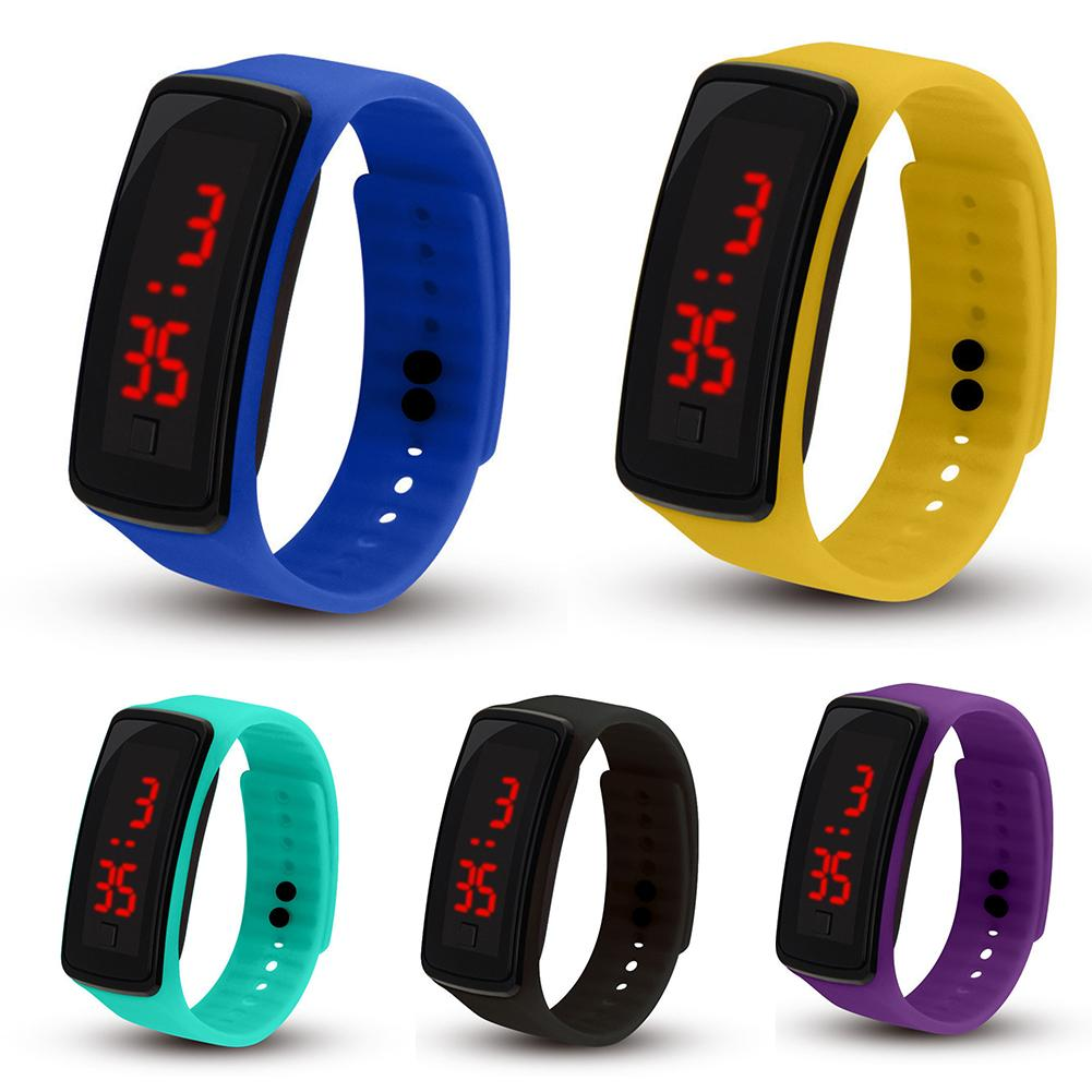 Children Watch Kids Silicone Band LED Screen Electronic Kids Watch Digital Sports Watch kids watches