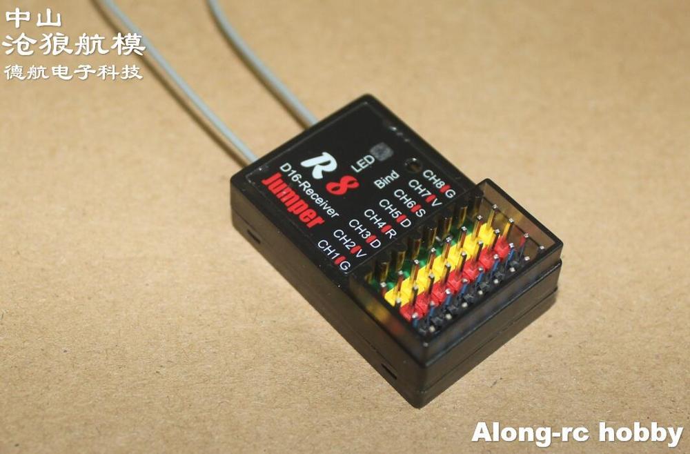Receptor r1 r8 xm + jumper r1 compatível d16 xsr 2.4g 16ch accst receptor s-bus cppm smartport frsky x9d x9e x9dp x12s