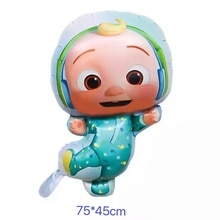 Cocomelon JJ Foil Balloon Party Supplies Birthday Decoration Latex Balloon Kids Toy Balloon Baby Sho