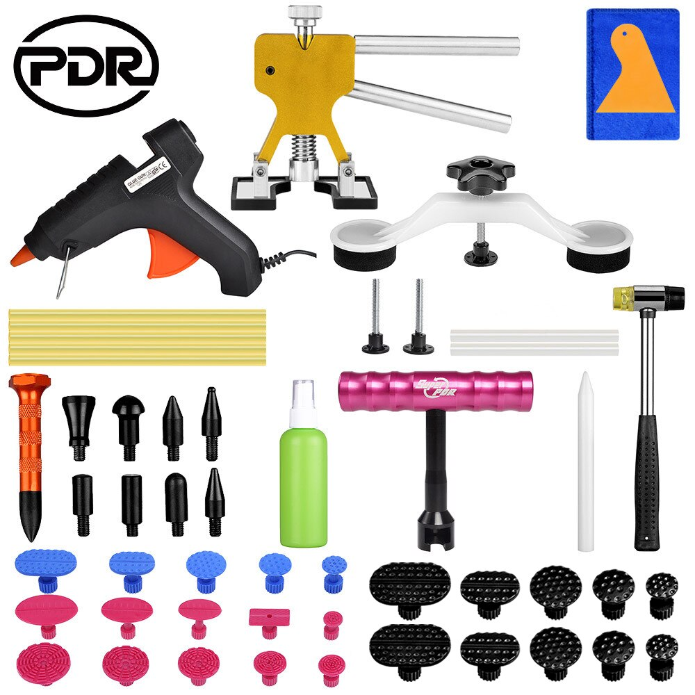 PDR Tools Paintless Dent Repair Tool Auto Puller Suction Cup Car Body Damage Hand Pulling bridge hammer
