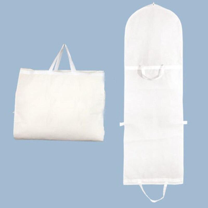 2019 vestido de vestir cubierta bolsa de almacenamiento a prueba de polvo plegable largo vestidos de novia KSI999