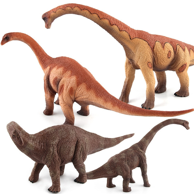 Venta caliente modelo de plástico sólido Wan dragón Apatosaurus Brontosaurus Jurásico dinosaurio modelo de juguete