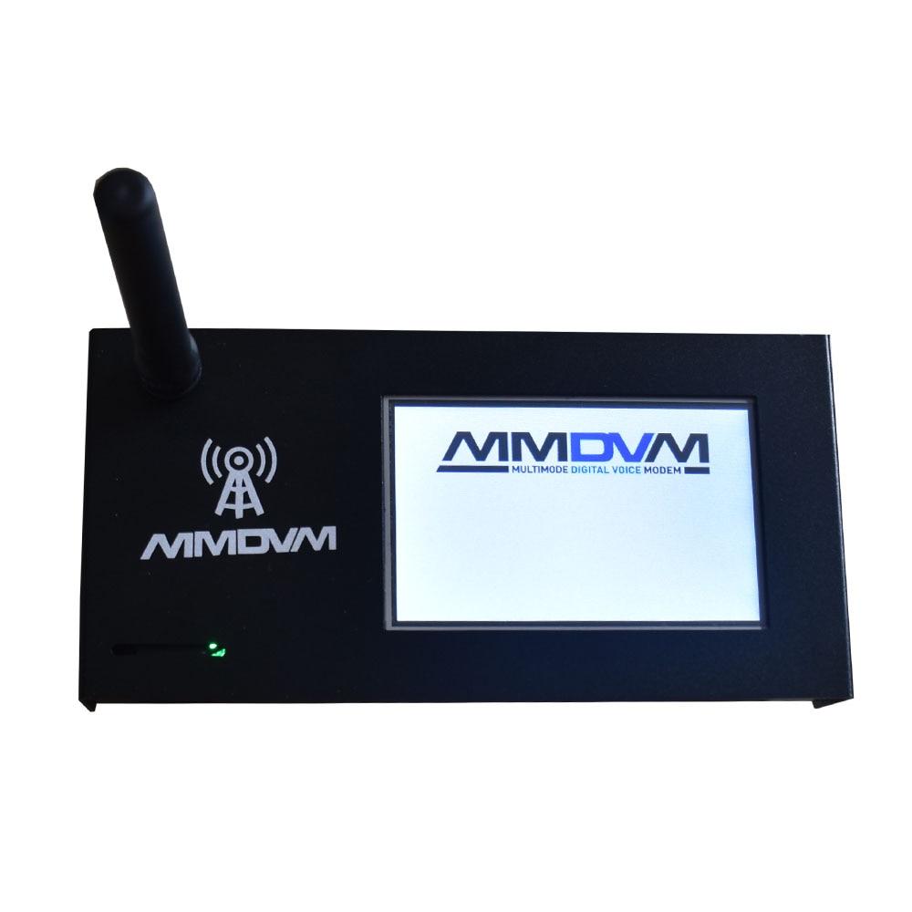 New Assembled MMDVM Hotspot + Raspberry Pi Zero W +3.2 inch LCD Display + Aluminum Case P25 DMR YSF