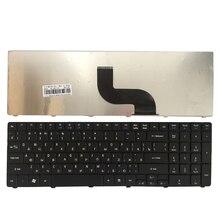 Nowy rosyjski klawiatura do acer TRAVELMATE TM 5742G 5742Z 5742ZG 5744 5744Z RU czarna klawiatura laptopa