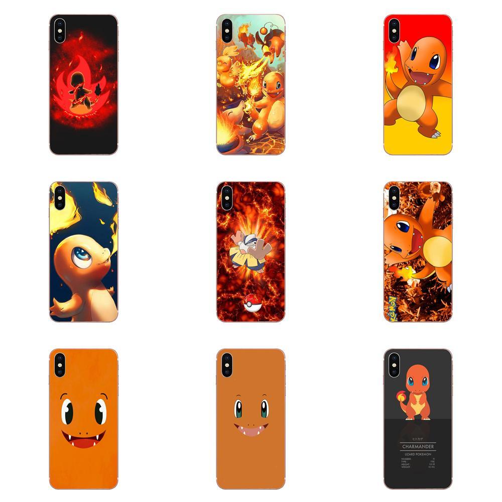 Colorido y lindo Anime Pokeom Charmander para Xiaomi Redmi K30 K20 Pro 5G Nota 9 PRO Max 9s Mi9 mi10 lite Pro redmi 7 8a a3