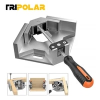 90 degree adjustable carpenter clip angle clamp woodworking frame clip tools right angle aluminum alloy single handle tool clamp