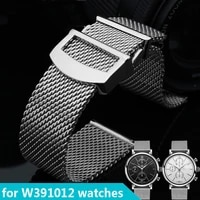watch bracelet for portugieser w391012 series wristband mens high quality milan stainless steel 20mm 22mm watchband straps