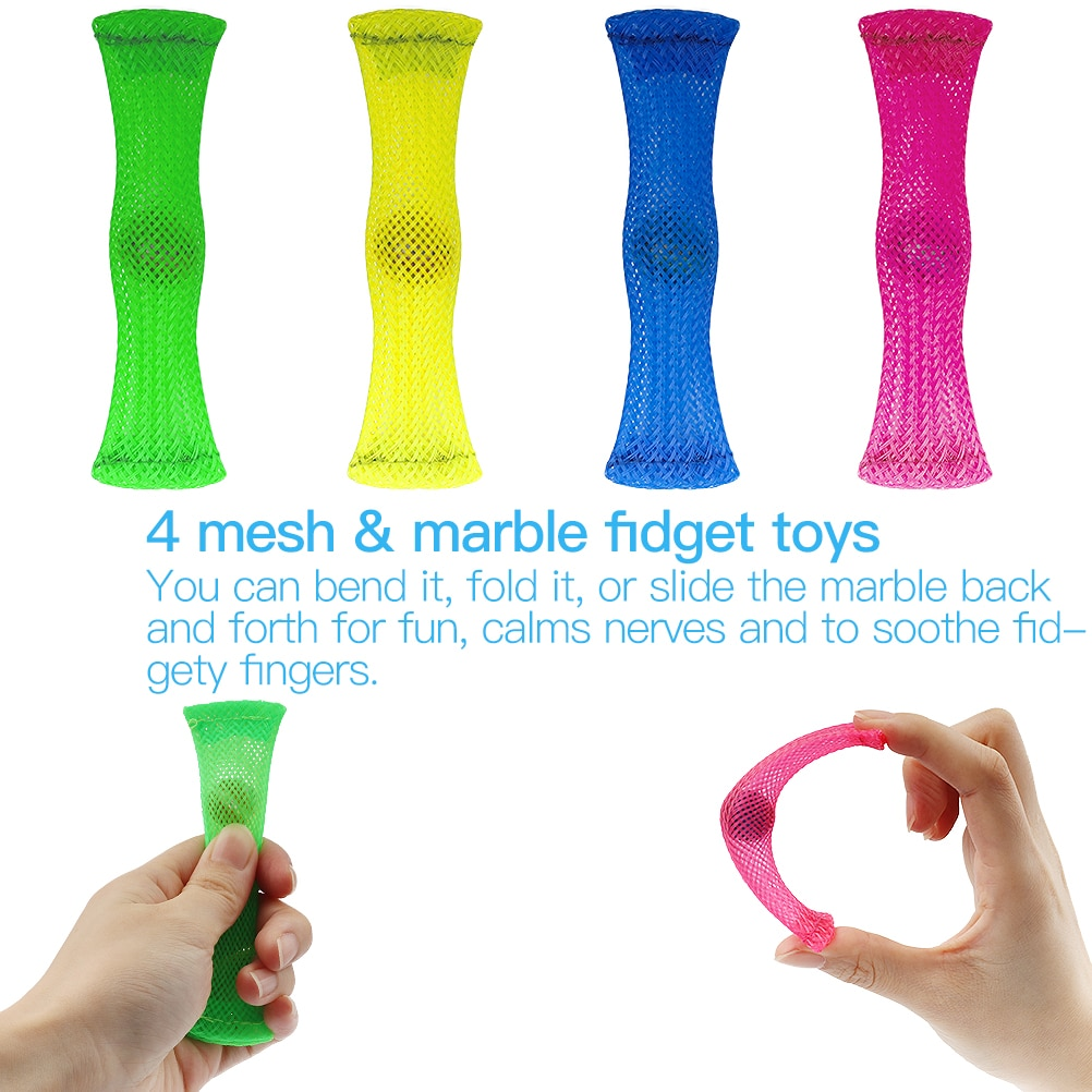 1 set Fidget Sensory Toy Set Stress Relief Toys Autism Anxiety Relief Stress Pop Bubble Fidget Sensory Toy for Kids Adults enlarge