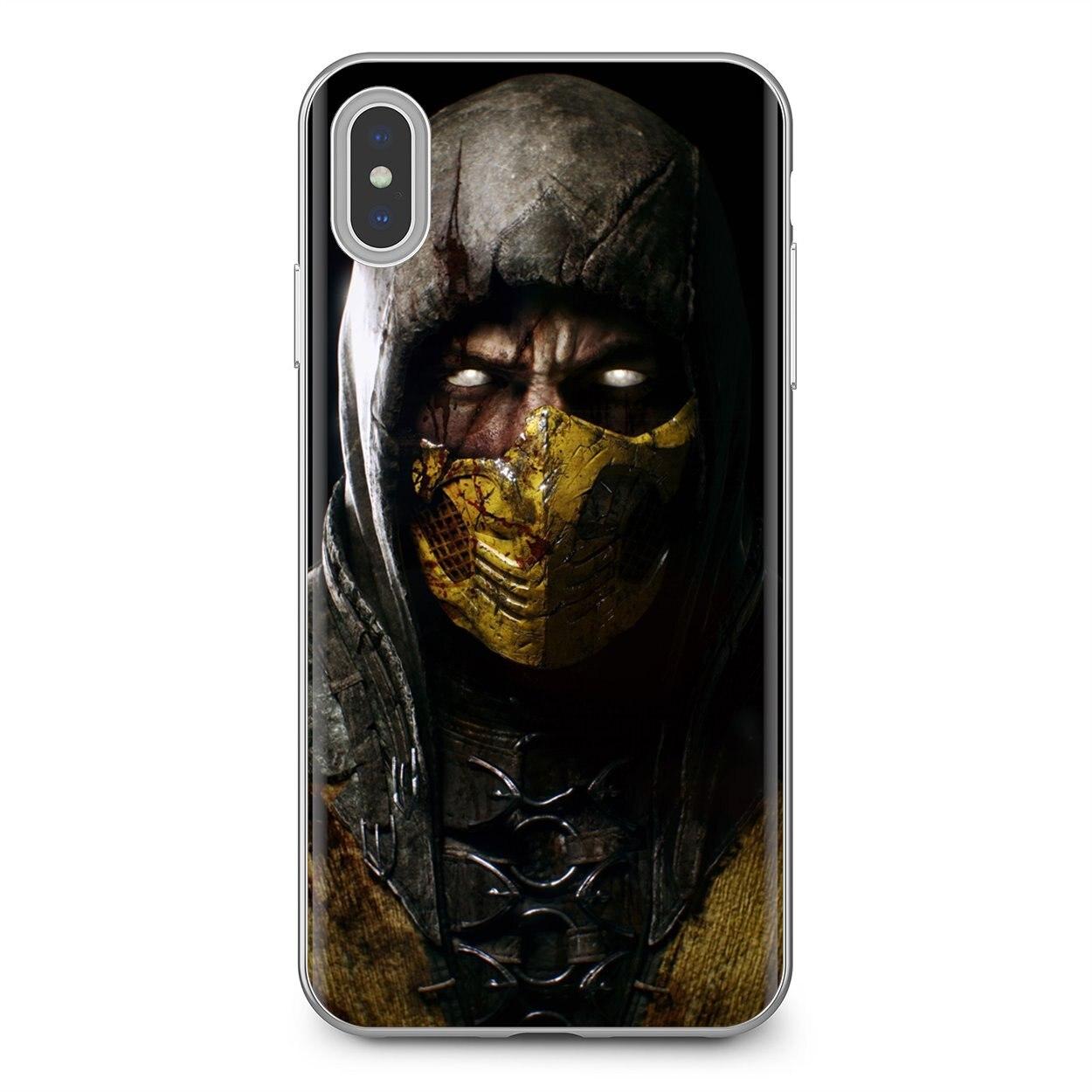 Barato de silicona teléfono caso Mortal Kombat bastante para Xiaomi Redmi 4A 7A S2 Nota 8 3S 3S 4 4X4 5X5 6 Plus 7 6A Pro teléfono móvil F1