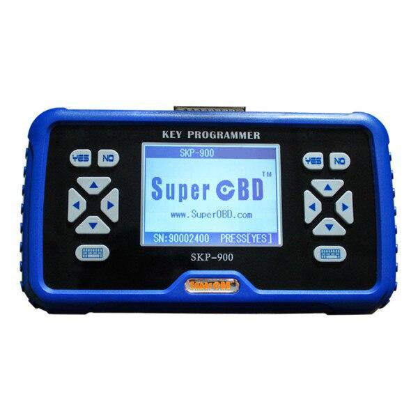 Programador de llave automática OBD2 SuperOBD SKP-900 V5.0 de mano