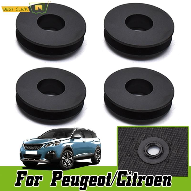 Auto Fastener Floor Mat Fixing Buckles Holders For Peugeot Citroen Car Clips Skid Resistant Carpet Fixing Clamps C5 C4 DS4 5 6