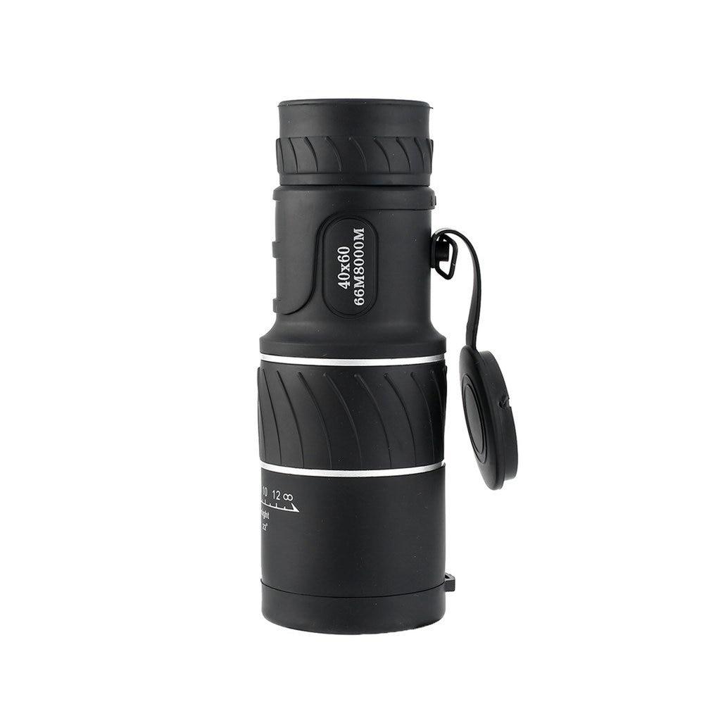 Telescope Panda Day & Night Vision 40x60 HD Optical Monocular Hunting Camping Hiking Outdoor Telescope