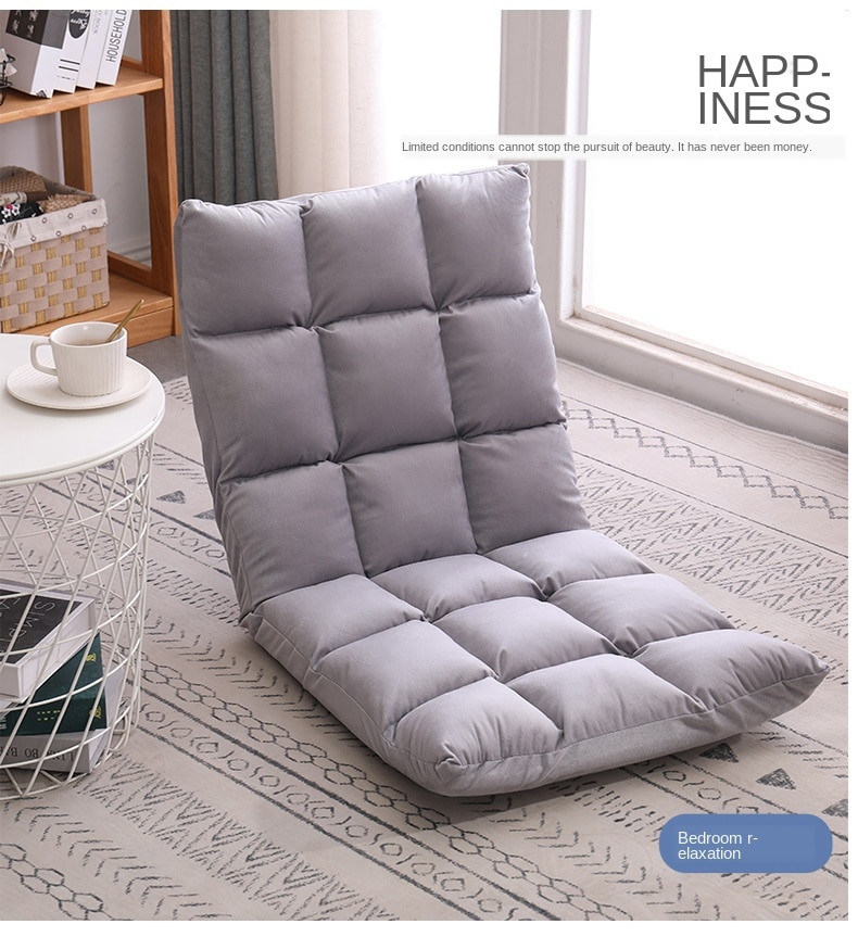 Sofá plegable pequeño de suelo japonés, cama, silla para dormitorio