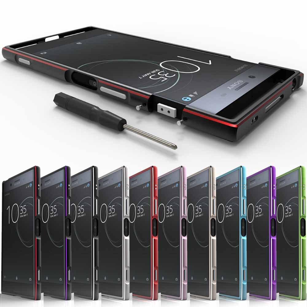 CELFONE Luxury Metel case for Sony Xperia XZ Premium Bumper E5563 Original Aluminum Metal Frame for Sony XZ Premium XZP 5.5 case