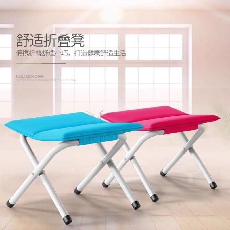 Складной стул для улицы, складной и портативный стул для рыбалки для взрослых, маленькая скамейка, маленькая скамейка, скамейка для ног, раз...