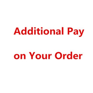 Additional pay for shipping fee
