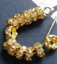 6mm 8mm 10mm 12mm cristal blanc X23ERE strass Rondelle entretoise mental bijoux à bricoler soi-même faisant artisanat Bracelet collier