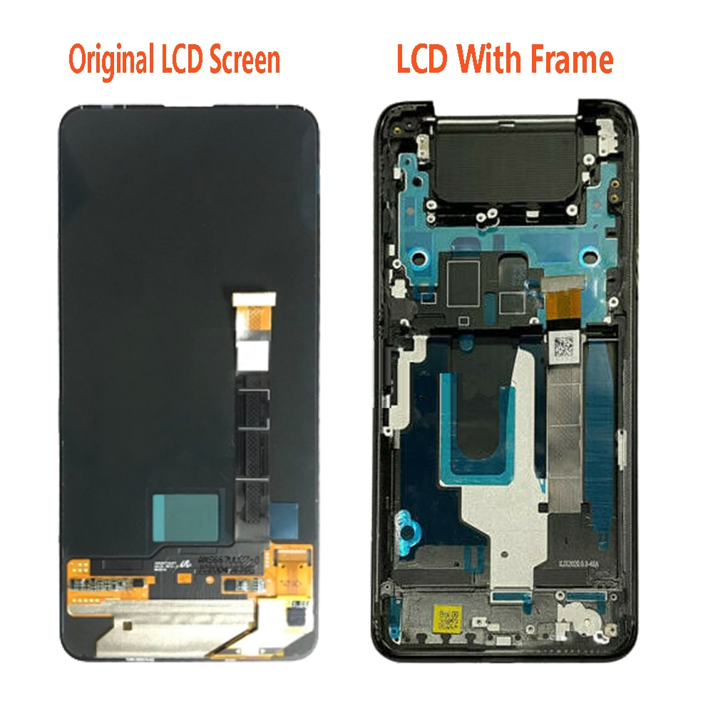 Super AMOLED For Asus Zenfone 7 Pro ZS671KS I002DD LCD Display Touch Screen Digitizer Zenfone 7 ZS670KS I002D LCD Display enlarge