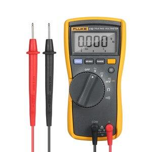 FLUKE 110 Handheld Multimeter Auto range 6000 Counts Digital Multimeter Voltmeter Voltage Meter Measuring AC/DC Voltage Tester