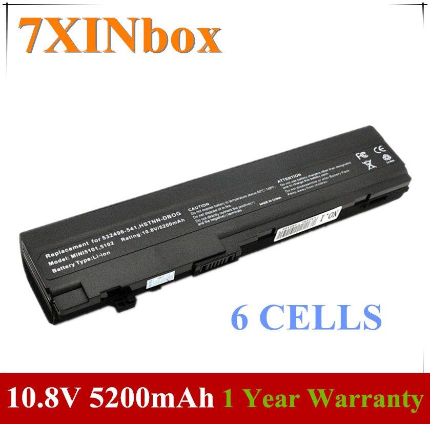 7XINbox Batterie MINI5101 Für HP Mini 5101 5102 5103 532496-541 AT901AA HSTNN-DB0G HSTNN-UB0G HSTNN-IBOF HSTNN-I71C HSTNNOB0F