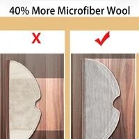 2 pcs mops cloths full coverage vacuum cleaner parts for xiaomi roborock s50 s55 s6 vacuum cleaner mop