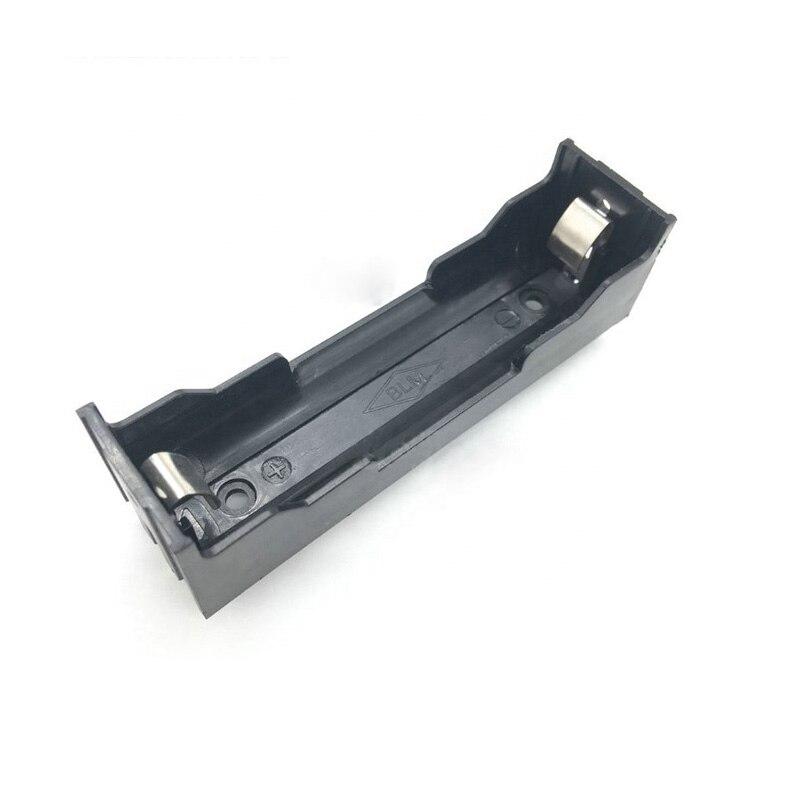 1 1 Pçs/lote ABS 3.7V Célula 18650 Caso Suporte Da Bateria de Plástico Caixa de Armazenamento Da Bateria com Pinos