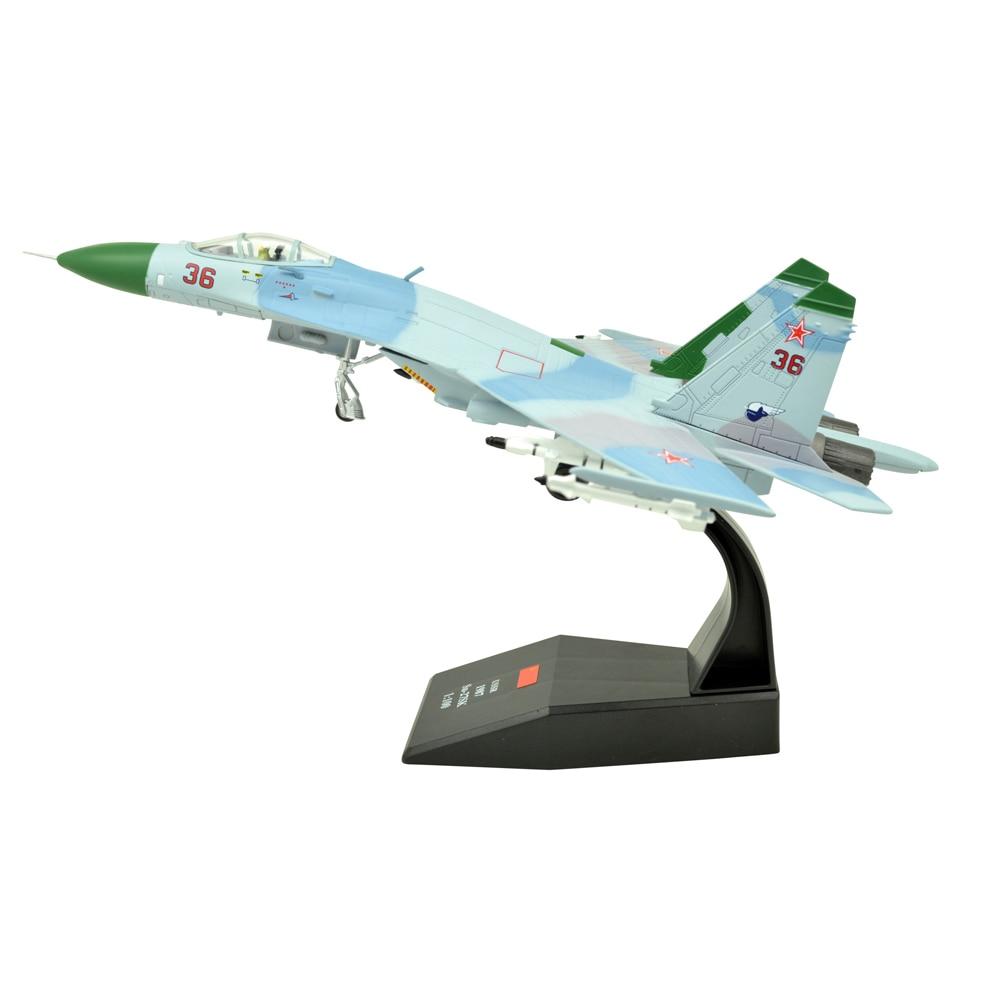 Dinastía TANG (TM) 1 100 Sukhoi Su-27 Fighter Attack modelo de avión de Metal, Unión Soviética 1987, modelo de avión militar, avión fundido