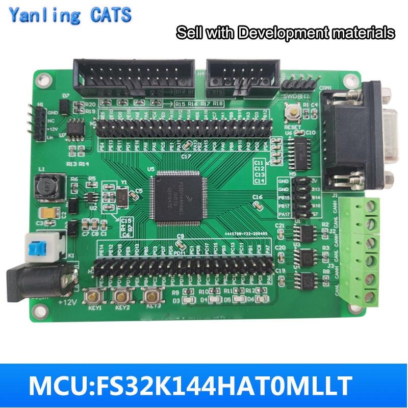 Для NXP макетная плата FS32k144 отладочная ARM cortex M4F с 3 сторонний выход может DC 12V JTAG