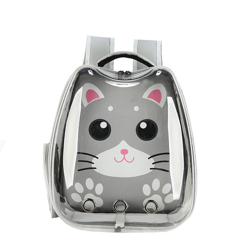 Panoramic Transparent Cat Bag Big Space Pet Backpack Breathable Small Dog Bag Tourism Cats Carrier Out Comfortable Pets Supplies