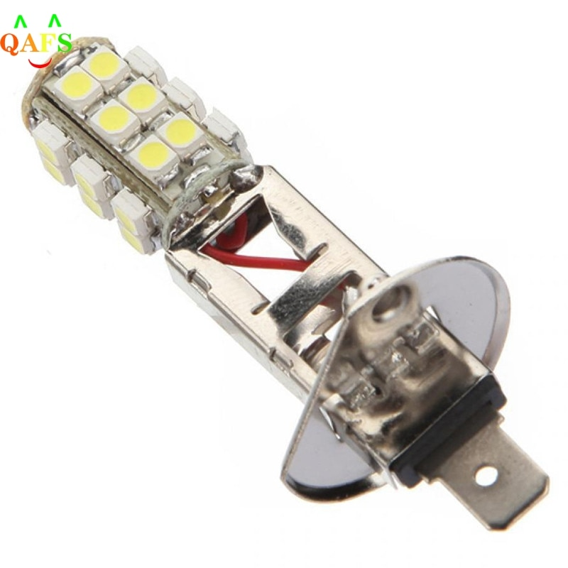 Bright White H1 HID 25 SMD 3528 LED Car Vehicle Fog Head Light Lamps Bulb DC 12V Special