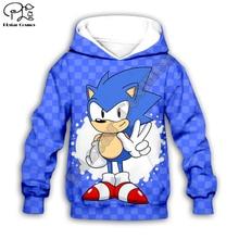Kids Cloth Anime Super Sonic Cartoon 3d hoodies/boy sweatshirt Cartoon Hot Movie style-10