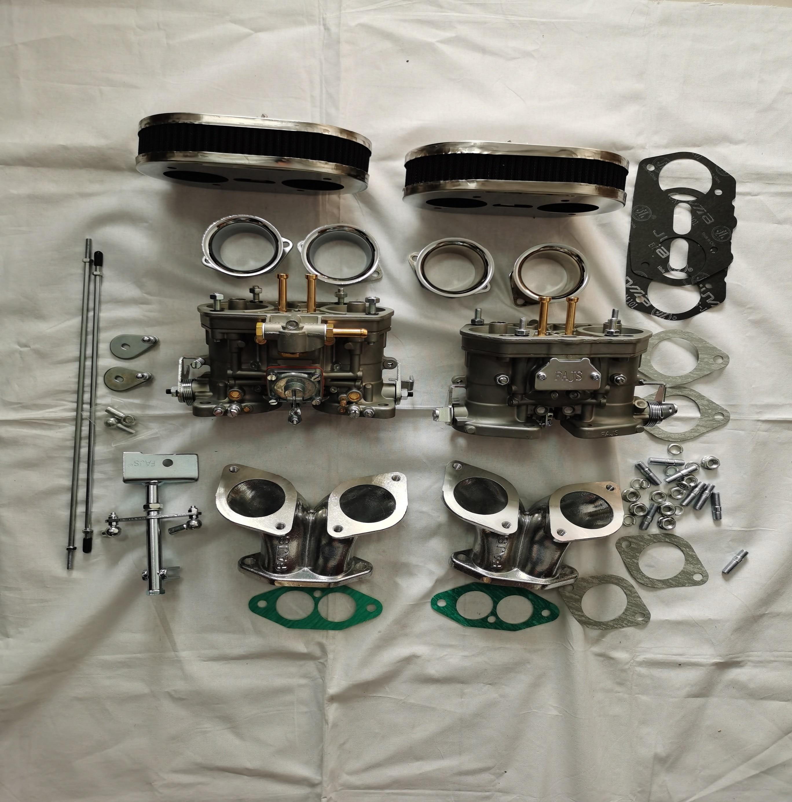 Dual fajs 44IDF carburetor for V W TYPE 3 FAJS HPMX WEBER IDF  - buy with discount