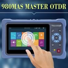 Профессиональный Мини OTDR 1310 1550нм 26 24дб волоконно оптический отражатель сенсорный экран VFL OLS OPM карта событий Ethernet кабель тестер инструмент
